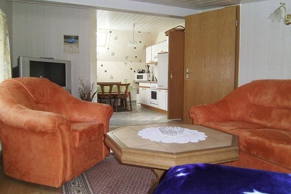 Ferienwohnung in Thomsdorf - Wohnzimmer