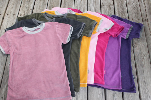 T-Shirts Frottee