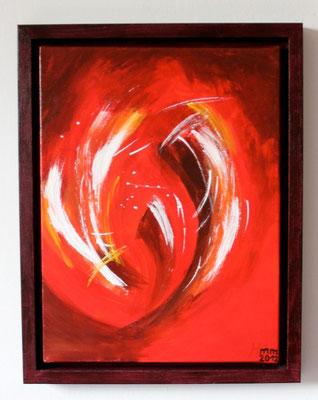 Liebe Leidenschaft Acryl auf Leinwand 2012 Sonderanfertigung
