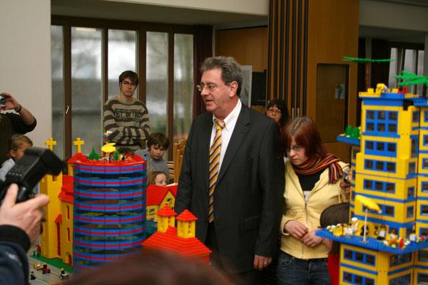 Egon Vaupel besucht den Legotag 2008