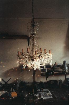 Luminaire à pampilles XIXème