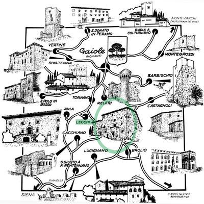 I castelli del Chianti • The castle of Chianti
