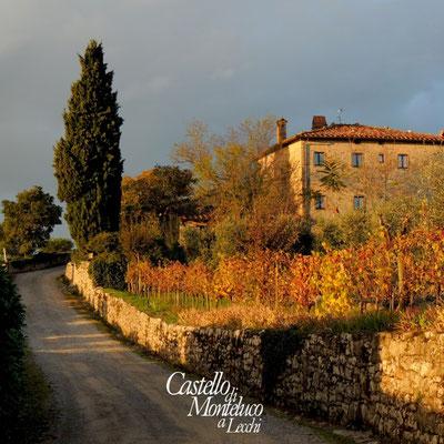 Poggio San Polo in autunno • The hamlet of San Polo in Autumn