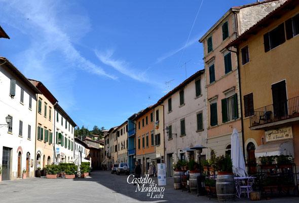 Gaiole in Chianti | Bettino Ricasoli square