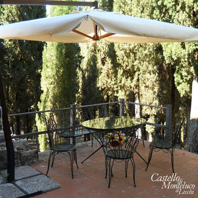 La terrazza privata • The private terrace
