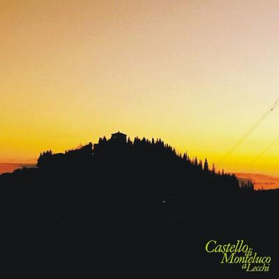 Monteluco al tramonto di primavera • Monteluco in spring sunset [Elisa Cioni]
