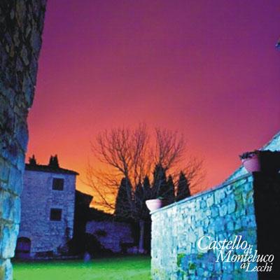 Colori da favola al Castello di Monteluco • Fabulous colors at Monteluco castle.