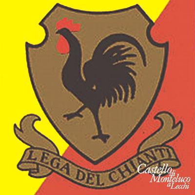 Il simbolo originale della Lega del Chianti • The original symbol of the Chianti legue