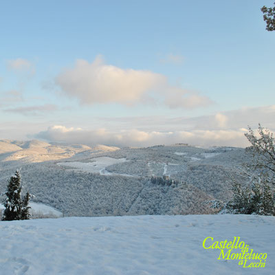 Inverno: Panorama dalla collina di Monteluco • Winter: landscape from the hill of Monteluco [Susanna Cioni]