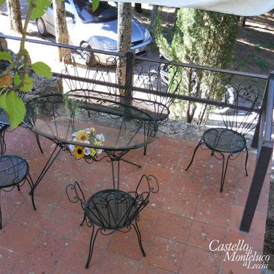 La terrazza privata | The private terrace