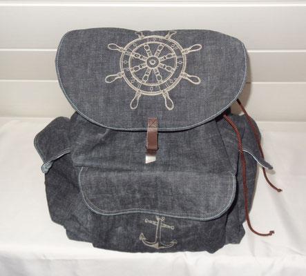 sac à dos pour homme thème maritime nautique