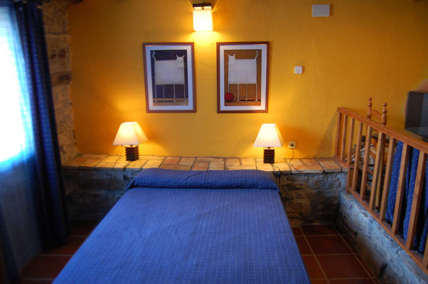 Dormitorio de Guara