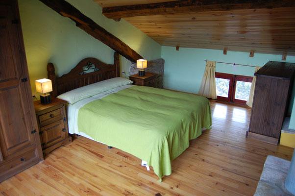 Dormitorio de Nabaín