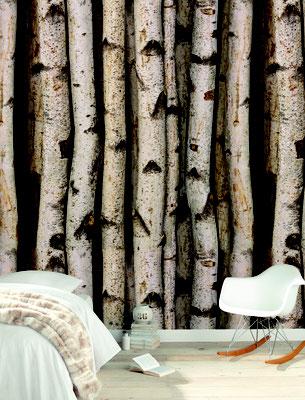 Papel Tapiz imitación madera
