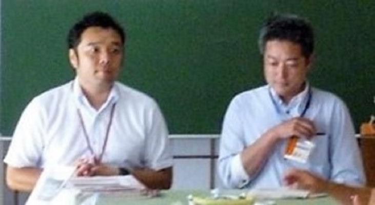 藤沢市役所地域包括ケアシステム推進室の齊藤・一瀬両氏