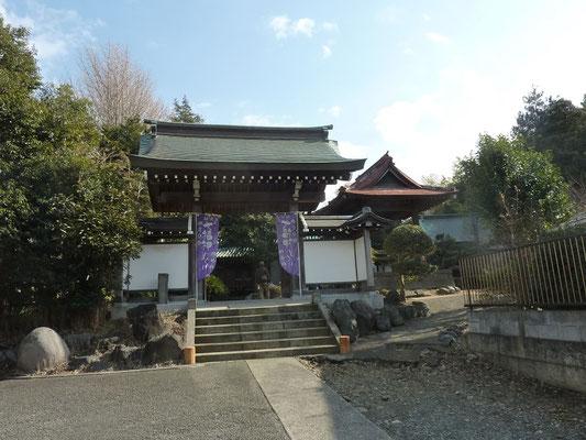 寿老人尊の感応寺