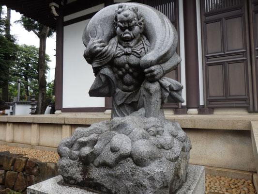 風神像(東光寺)