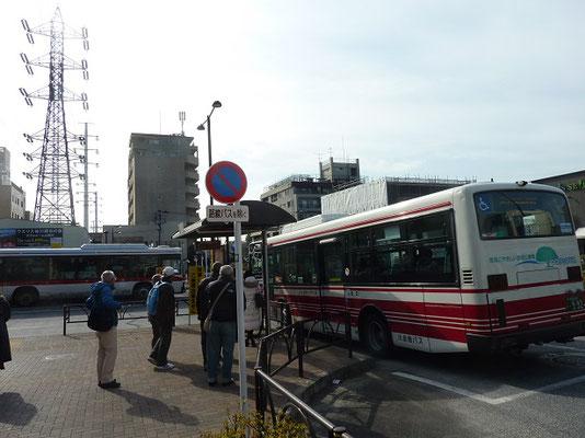 成城学園駅前から小田急バスで芦花公園駅