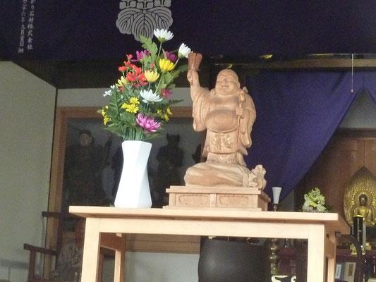 養命寺の布袋尊像