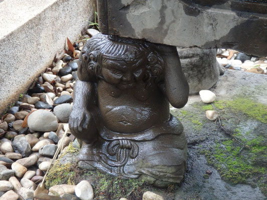 天邪鬼(氷川神社)