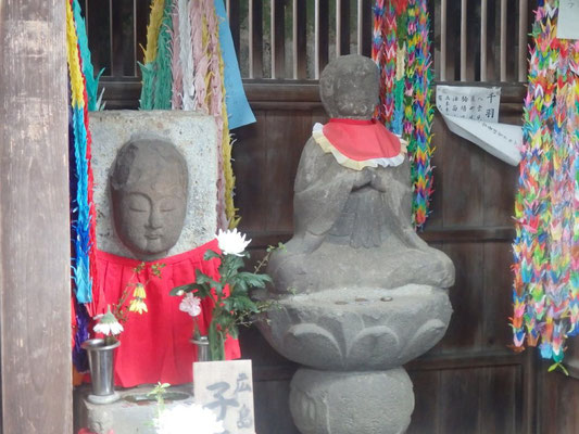 広島で被爆の地蔵