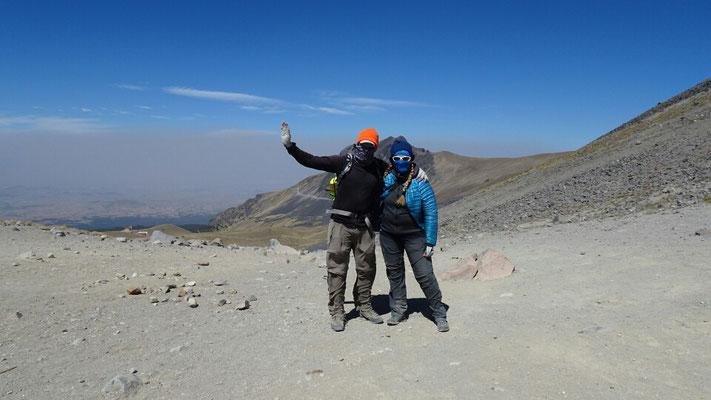 Hiking on 4500m
