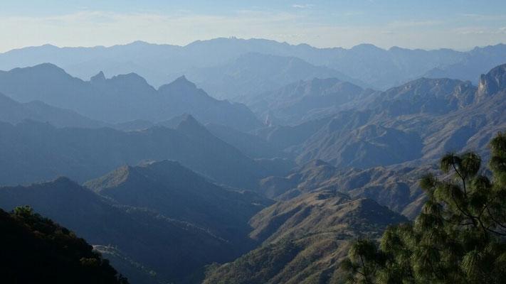 Impresive mountains in Durango