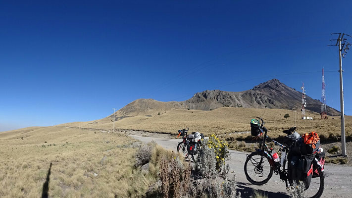 And cycling up to 4200m