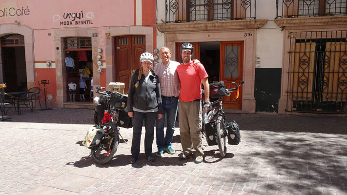 Muchas Gracias Pancho for the great time in Zacatecas