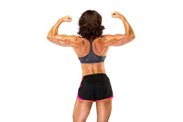 Fitnessfoto Athletin