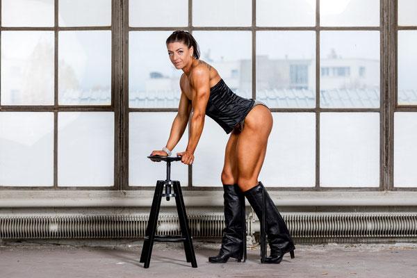 Fitness Athletin Portrait