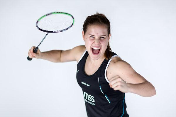 Badmintonspielerin