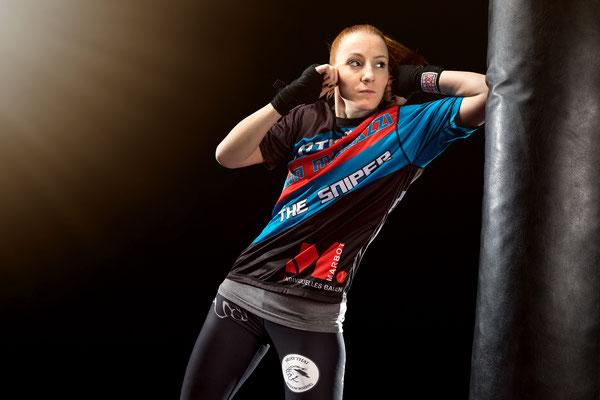 Kampfsport Sandsack Sportfotograf
