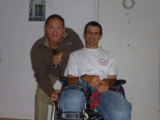 Alex donateur d'équipement PMR