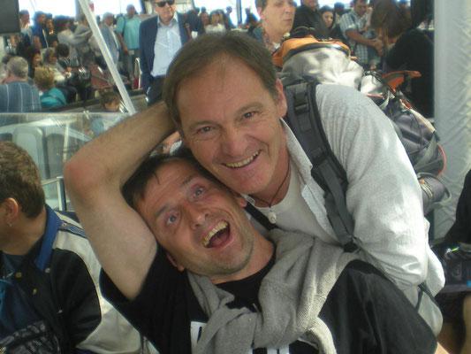 APF Evasion, séjour Italie, Boris et Christophe