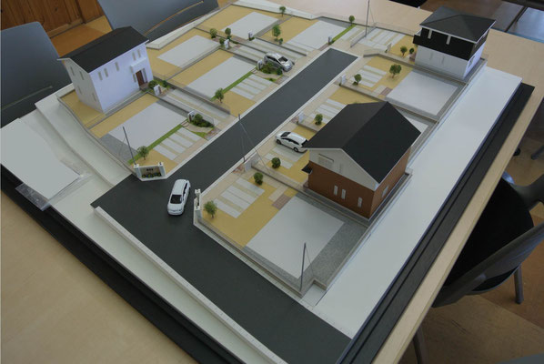 建築模型 住宅模型 分譲地模型