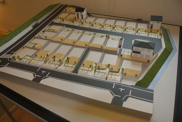 建築模型 住宅模型 分譲地模型 造成地模型