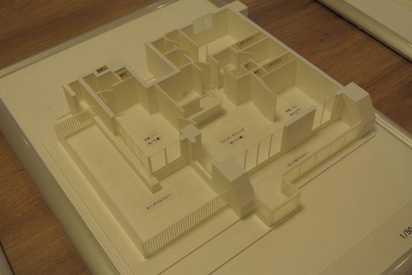 建築模型 マンション模型