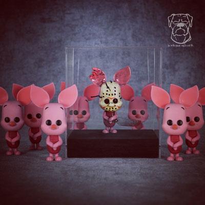 Custom Piglet Voorhees Funko Pop