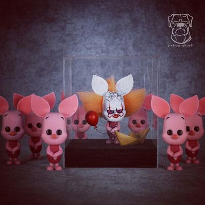 Custom Piglywise Funko Pop