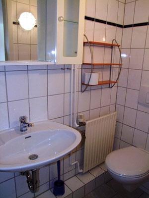 Das helle Badezimmer