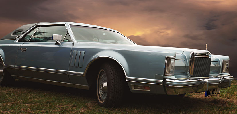 """""""Oldtimer Lincoln Continental!"""""""
