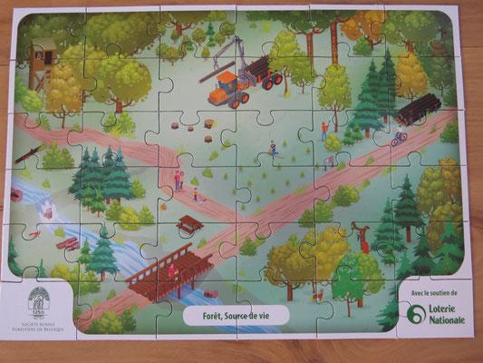 La filière du bois en puzzle