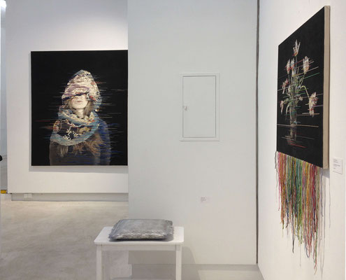 Kunst-Stoff, Galerie Kunstkontor Nürnberg, 2017