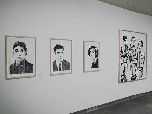 """""""VERKNÜPFUNGEN / PROLÍNÁNÍ"""", Galerie umeni Karlovy Vary, 2010"""