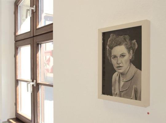 """""""100 Jahre später..."""", Kunstverein Erlangen, 2012"""