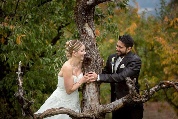 Hochzeitfoto am Pfäffikersee