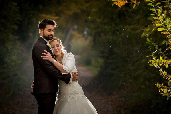 Das Brautpaar bei der Juckerfarm in Stäfa