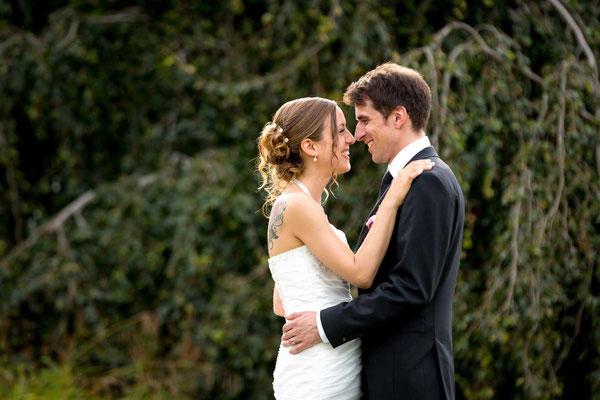 Hochzeitsfotos im Grünen