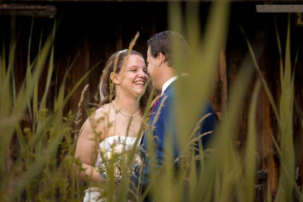 Hochzeitsfoto beim Pfäffikersee